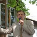 Šventės vedėjas Muziejaus direktorius Antanas Verbickas.